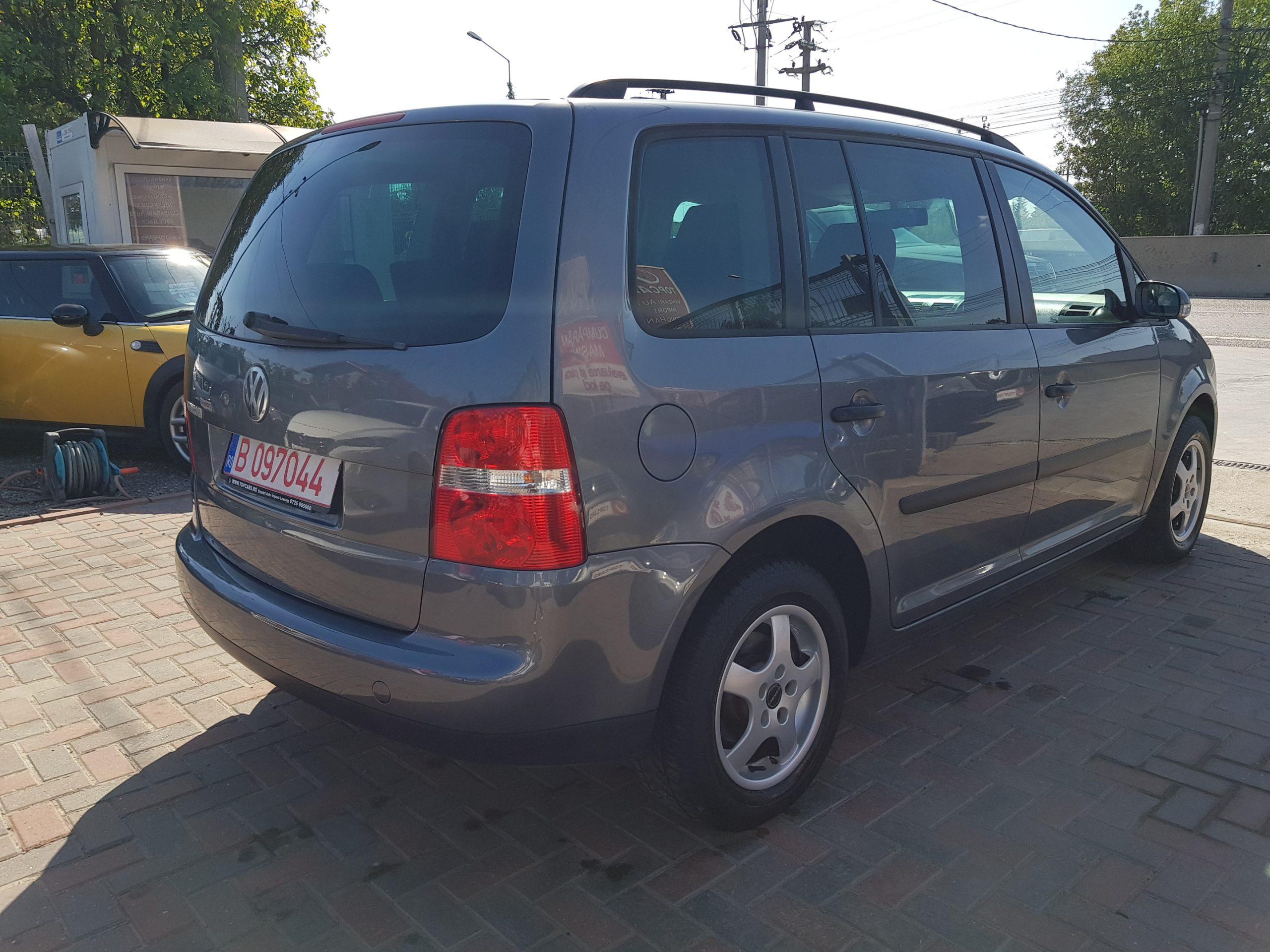 VW TOURAN 1,6i full
